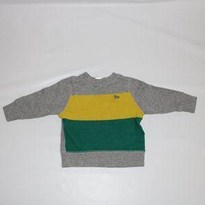 🌈Old Navy Toddler Boy Sweater Grey - (12-18 M)